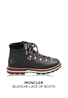 Moncler Blanche lace up boots
