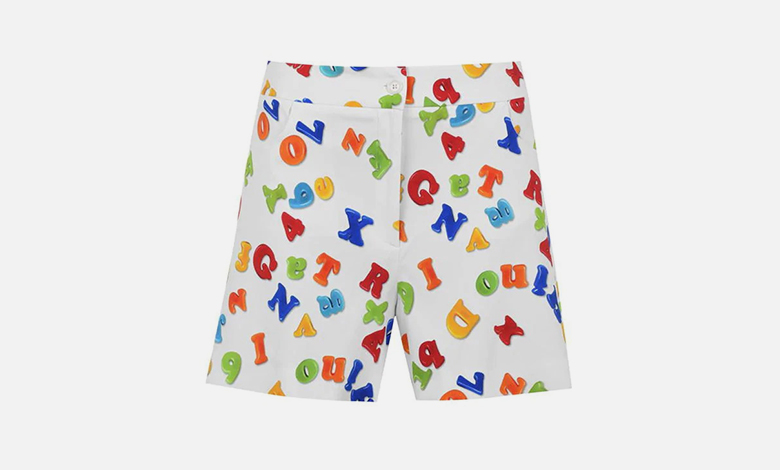Moschino magnet shorts