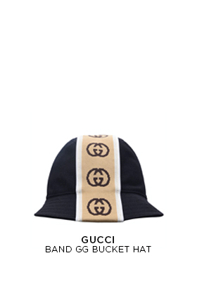 Gucci Band Gg Bucket Hat