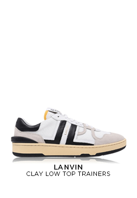 Lanvin Clay Low Top Trainers