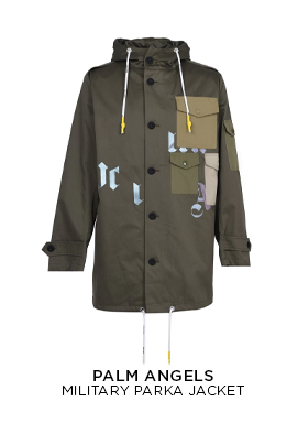 Palm Angels Military Parka Jacket