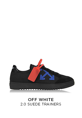 Off-White black 2.0 low top trainers
