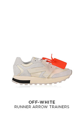 Off-White runner arrow trainers