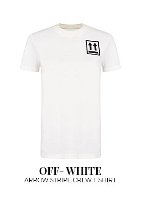 Off-White Arrow Stripe Crew T-Shirt