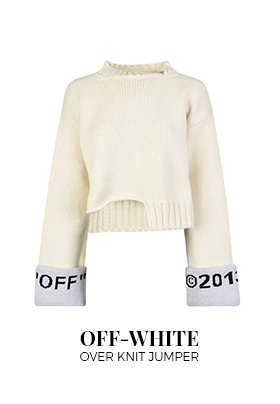 Flannels Off-White Over Knit Jumper