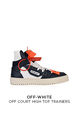Off-White high top trainers