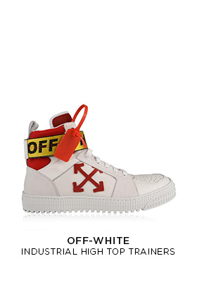 Off White industrial high tops