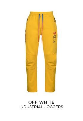 Off-White industrial jogging bottoms