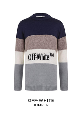 Off-White knitted jumper