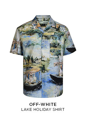 Off-White lake holiday shirt