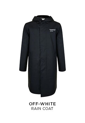 Off-White raincoat