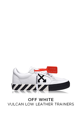Off-White Vulcan low leather trainers