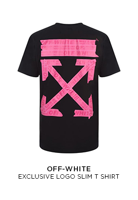 Flannels X Off White exclusive pink Tshirt