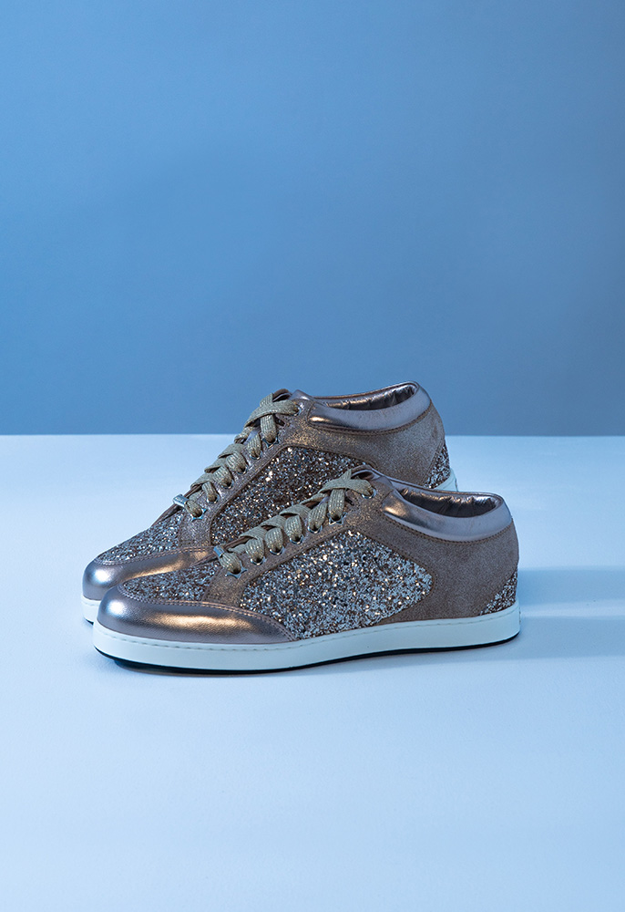 Photograph of Jimmy Choo Miami trainers