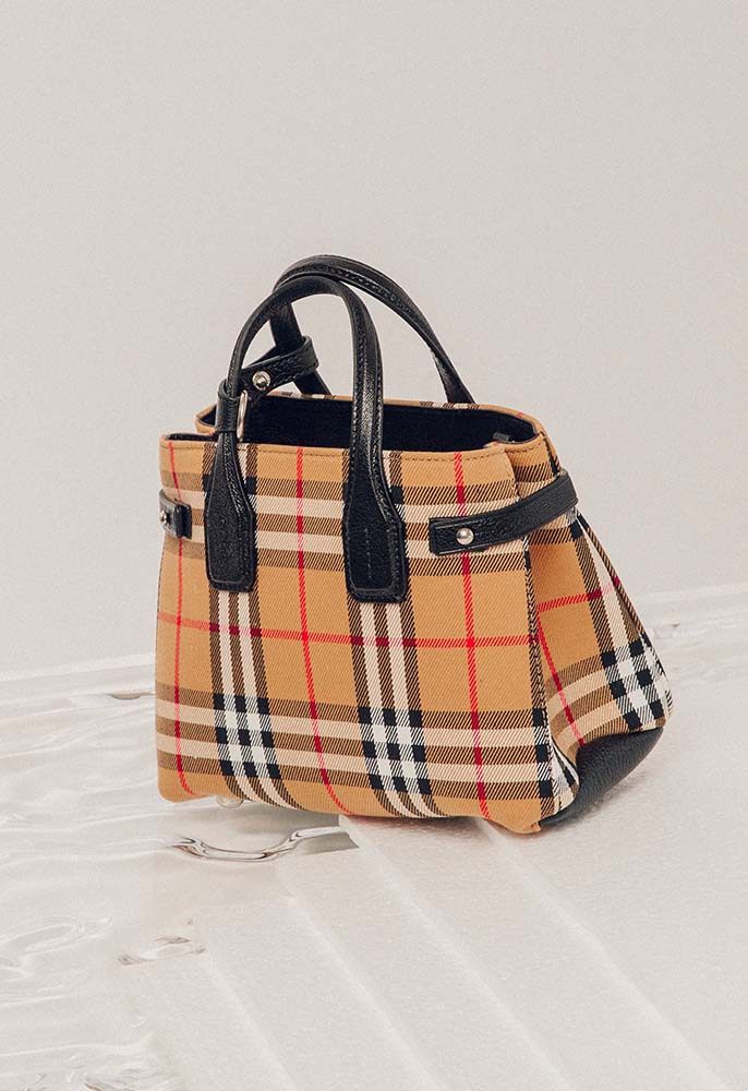 Burberry London Baby Vintage Check Banner Bag