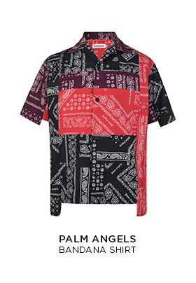 Palm Angels bandana shirt