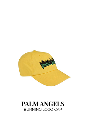 Palm Angels burning logo cap