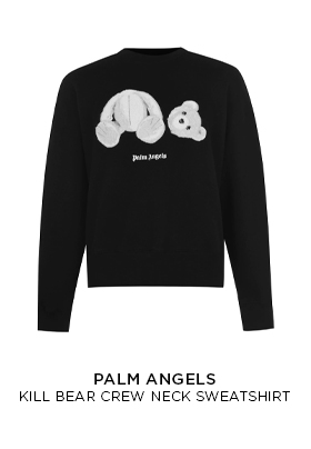 Palm Angels Kill Bear Crew Neck Sweatshirt