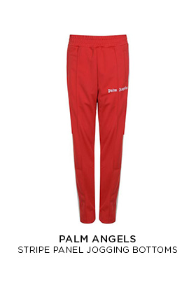 Palm Angels red jogging bottoms