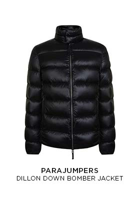 Parajumpers down bomber jacket