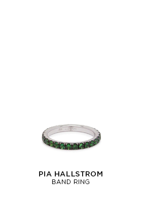 Pia Hallstrom band ring