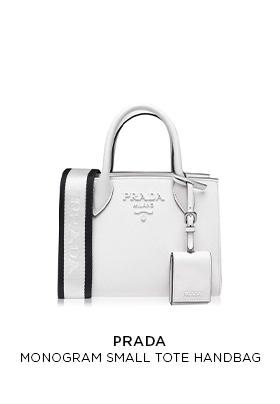 Prada small monogram tote
