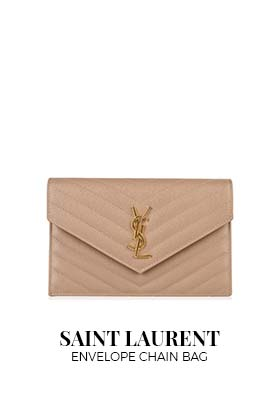 Saint Laurent Envelope Chain Bag