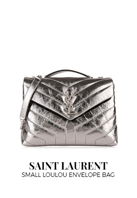 Saint Laurent small Loulou envelope bag