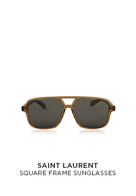 Saint Laurent SL176 square frame sunglasses