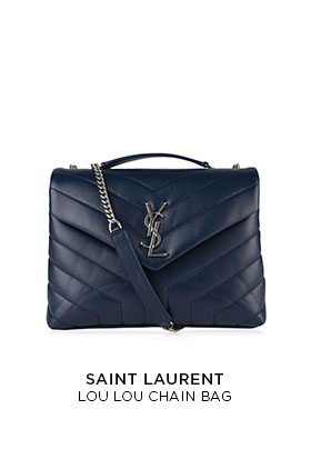 Saint Laurent Lou Lou chain bag