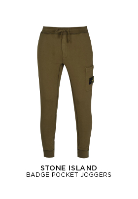Stone Island Badge Pocket Joggers