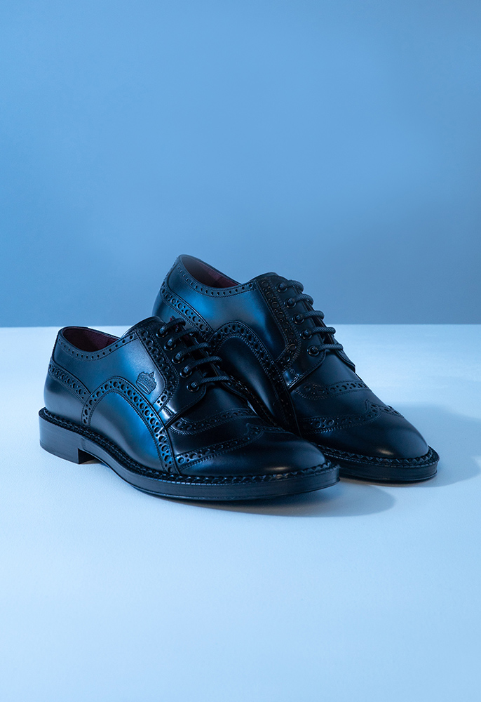 Photograph of Dolce & Gabbana derby shoes