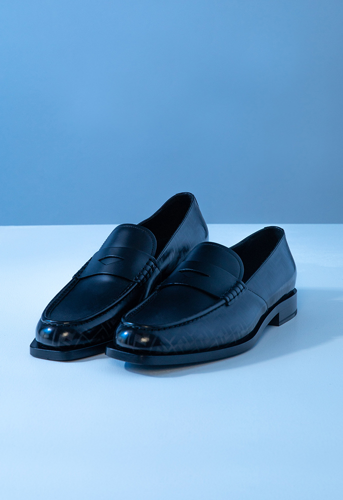 Photograph of Fendi loafers