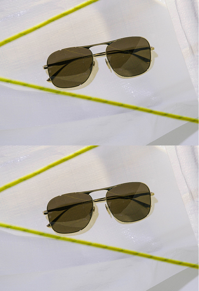 Gucci pilot aviator sunglasses