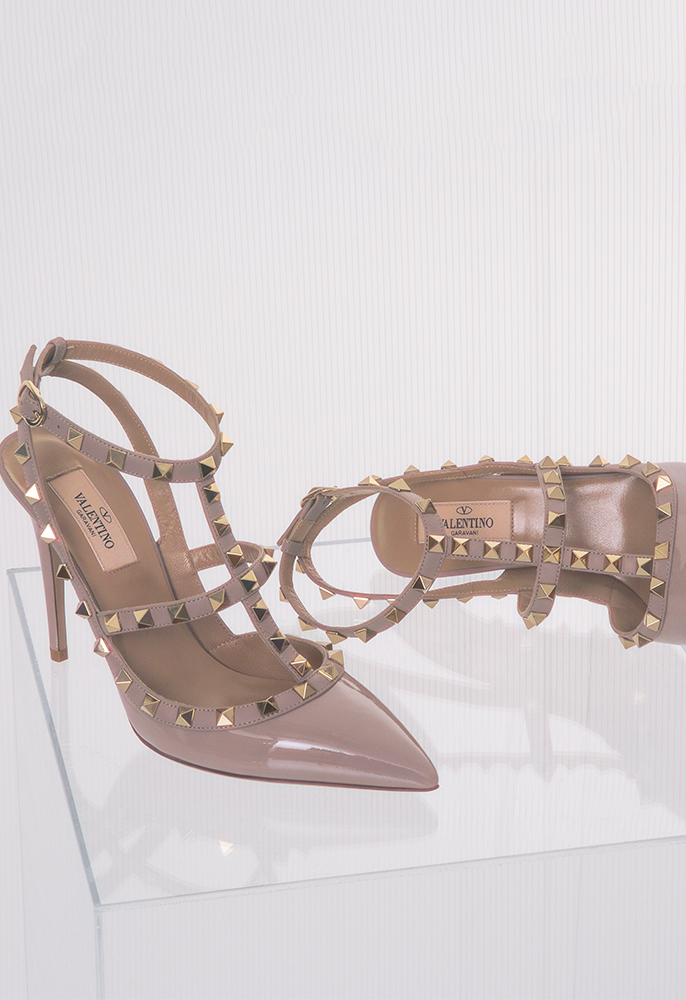 Valentino Rockstud 100 ankle shoes