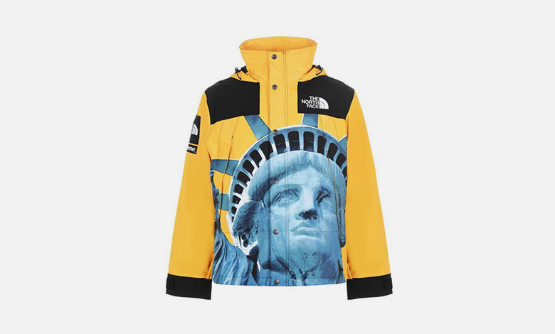 Supreme x The North Face Statue of Liberty parka