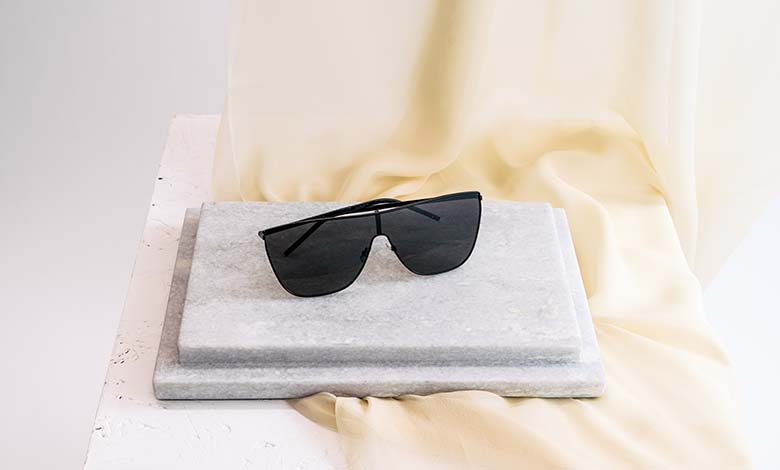 Saint Laurent SL1 mask sunglasses