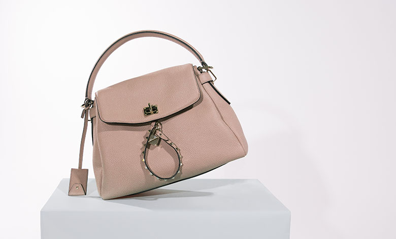 Pink Valentino Twiny bag with studded straps