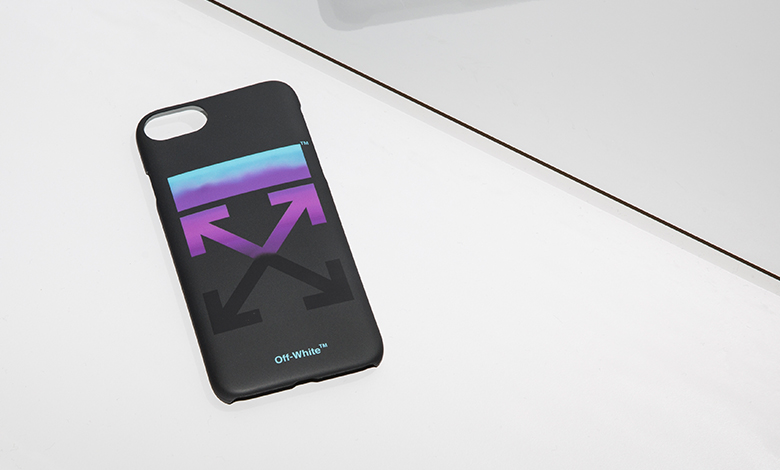 Off White gradient arrows iphone 8 case
