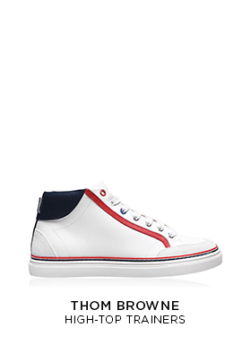 Thom Browne high top trainers