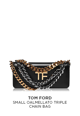 Tom Ford Oalmellato triple chain bag