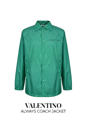 Valentino Always Coach jacket