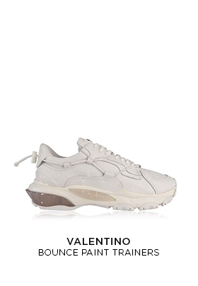 Valentino Bounce paint trainers