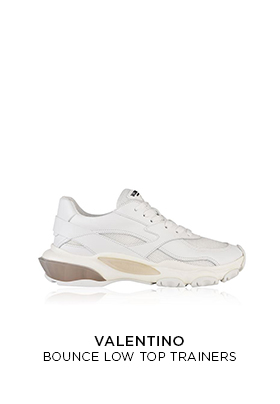 Valentino Bounce raised sole low top trainers