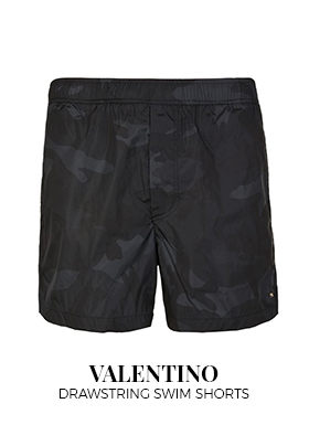 Valentino drawstrong swim shorts