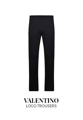 Valentino Logo Trousers
