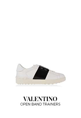 Valentino Open band trainers