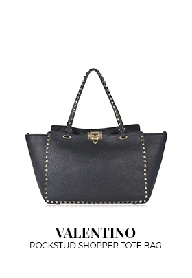 Valentino Rockstud shopper tote bag