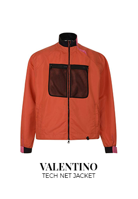 Valentino tech net jacket