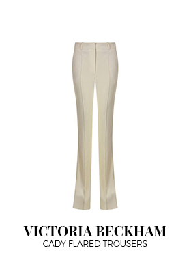 Victoria Beckham cady flared trousers